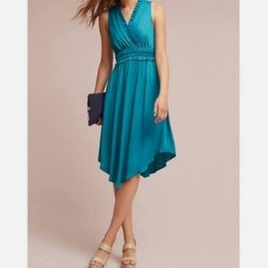 Maeve teal dress 💃from Anthropologie